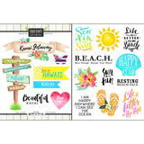 Page Kit Scrapbook KAUAI HAWAII KIT 10 pc. Scrapbooksrus
