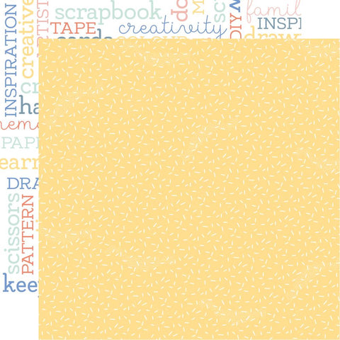 "Kaisercraft Crafternoon Collection CRAFTY 12""X12"" Scrapbook Paper Scrapbooksrus"
