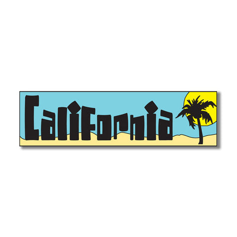 "CALIFORNIA Title Travel Topper Laser Cut 1pc 2""x9"" CA Scrapbooksrus"