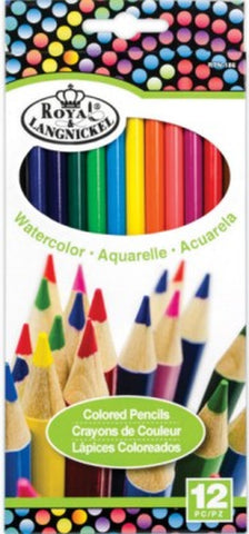 "Royal & Langnickel COLORED PENCILS 4""X10"" 12pc Scrapbooksrus"