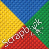 LEGO SCRAPBOOK KIT Building Blocks World #3 21pc - Scrapbook Kyandyland