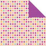 "Kaisercraft BUTTERFLY KISSES Double-Sided 12""X12"" Cardstock Sheet - Scrapbook Kyandyland"