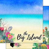 Hawaii 7pc BIG ISLAND Scrapbook Kit Paper Stickers Scrapbooksrus