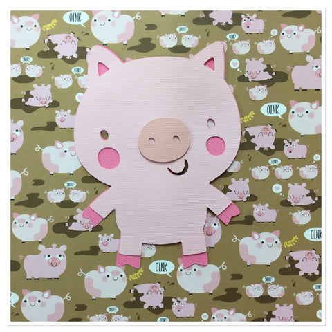 PIG Custom Scrapbook Die Cut Embellishment Scrapbooksrus