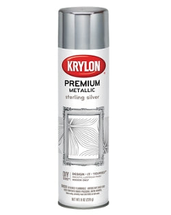 Krylon Premium METALLIC ORIGINAL CHROME Spray 8oz