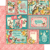 Graphic 45 EPHEMERA QUEEN Collection 12X12 Scrapbook Paper Scrapbooksrus