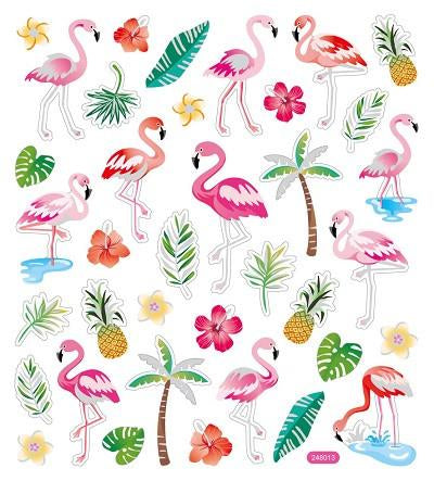 Sticker King FLAMINGO Stickers 35pc