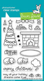 Lawn Fawn Clear Stamps Christmas Dreams @Scrapbooksrus