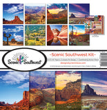 Reminisce SCENIC SOUTHWEST KIT 12X12 Scrapbook Kit Scrapbooksrus