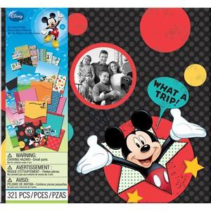 "Ek Success Disney VACATION TRAVEL SCRAPBOOK KIT 12""X12"""
