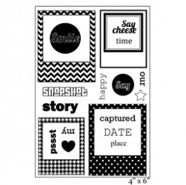 Maya Road YOU'VE BEEN FRAMED Clear Stamp Set 10 pc. Scrapbooksrus