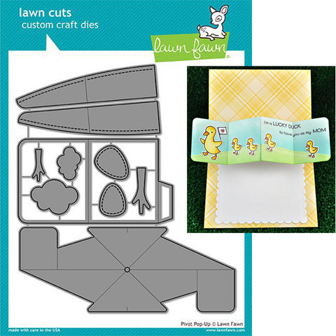 Lawn Fawn PIVOT POP-UP Custom Craft Die 10 pc