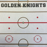 "Golden Knights PRIDE HOCKEY KIT 12""X12"" Scrapbook Paper 12 Sheets"