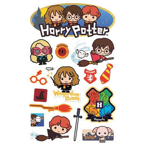 Wizarding World Paper House HARRY POTTER 3D Stickers 15pc Scrapbooksrus