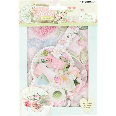 Studio Light LOVELY MOMENTS Paper Elements Scrapbooksrus