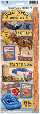 Paper House Grand Canyon Stickers @scrapbooksrus