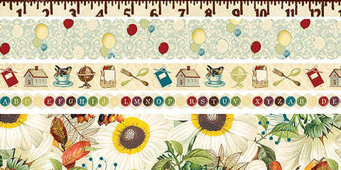 Webster's Pages Fabric RIBBONS