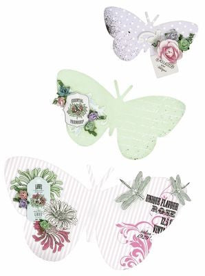 Kaisercraft Beyond the Page BUTTERFLY WALL ART - Scrapbook Kyandyland