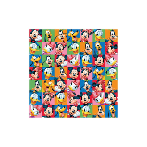 "Disney Sandylion MICKEY & FRIENDS PORTRAIT 12""X12"" Scrapbook Paper - Scrapbook Kyandyland"