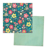 "MME Now & Then Dorothy Papers 12""X12"" 4 Sheets Pretty Blossom & Lovely Day - Scrapbook Kyandyland"