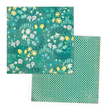 "MME Now & Then Milo Papers 12""X12"" 6 Sheets Forest Friends Field Little Things Doily - Scrapbook Kyandyland"