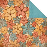 "Kaisercraft PEACHY KEEN Double-Sided 12""X12"" Cardstock Sheet - Scrapbook Kyandyland"