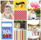 BIRTHDAY Pocket Pages Themed Cards 72pc Me & My Big Ideas - Scrapbook Kyandyland