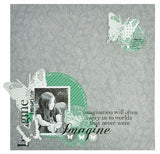 "Kaisercraft RUB-ON WORDS Black Scrapbook Rub On Titles 3""X6"" - Scrapbook Kyandyland"