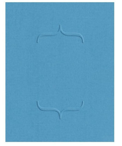 Quickutz Lifestyle Crafts A2 Embossing Folder BRACKETS - Scrapbook Kyandyland