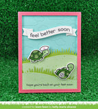 Lawn Fawn GET WELL BEFORE 'N AFTERS Dies 11pc Scrapbooksrus