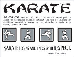 SRM Say It With Stickers KARATE Phrase 1pc - Scrapbook Kyandyland