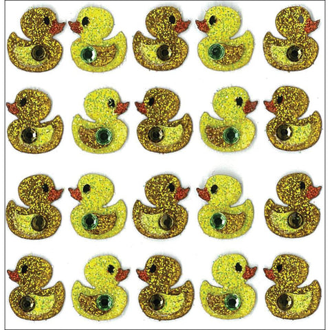 Ek Success DUCKS Jolee's Boutique 3D Stickers 20pc - Scrapbook Kyandyland