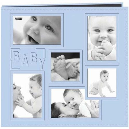 "Pioneer BABY BLUE BOY 12""X12"" Scrapbook Album"