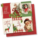 "Simple Stories Simple Vintage Christmas 12""x12"" COLLECTION KIT Scrapbooksrus"