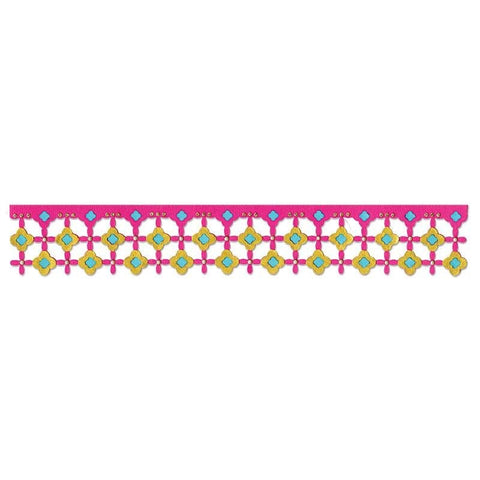 Sizzix Sizzlits Decorative Strip Tim Holtz MARRAKESH TITLE Die