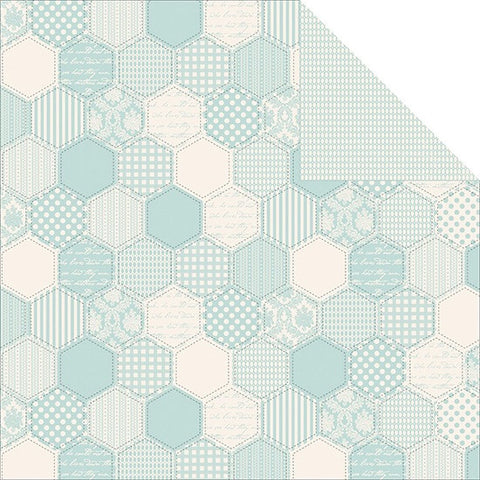 "Kaisercraft Pitter Patter LITTLE ONE Scrapbook Baby Paper 12""x12"""