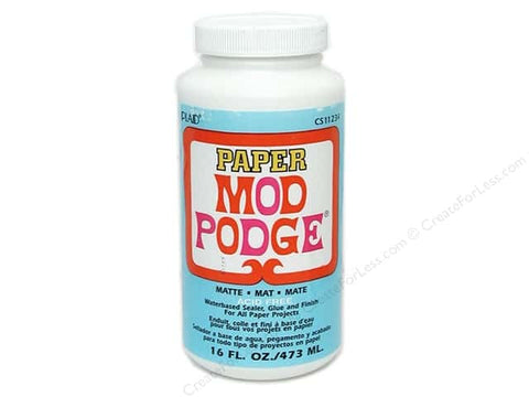 Mod Podge Paper Waterbase Sealer 8oz - Scrapbook Kyandyland