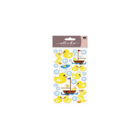 Ek Success Sticko RUBBER DUCKIES 3D Sticker 28pc - Scrapbook Kyandyland