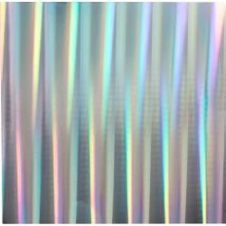 "Bazzill Foil Cardstock 12""X12"" HOLOGRAPHIC SILVER 1 Sheet Scrapbooksrus"