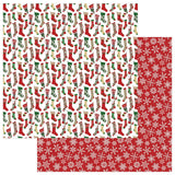 Photoplay Christmas HERE COMES SANTA 12X12 Paper Pack