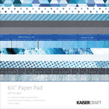 "Kaisercraft 6.5"" OFF THE WALL Paper Pad for Cards & Minis Scrapbooksrus"