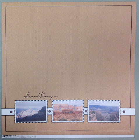 NevGrand Canyon Arizona Stamps Scrapbook Paper @scrapbooksrus