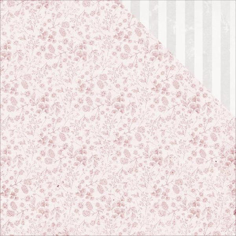 "Kaisercraft Sage And Grace BLOSSOMS 12""X12"" Scrapbook Sheet Scrapbooksrus"