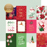 "Echo Park 12""x12"" MERRY AND BRIGHT Collection Kit ChristmasScrapbooksrus"