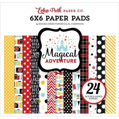 Echo Park Magical Adventure 6x6 Paper Pad