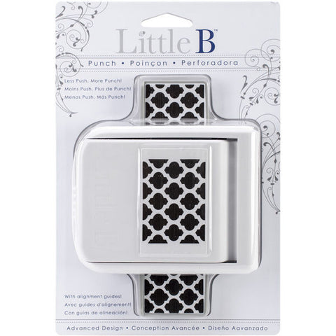 Little B MOROCCAN WINDOW Border Paper Edge Punch