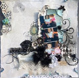 Prima Shabby Chic Treasures METAL RESIN Embellishments - Scrapbook Kyandyland