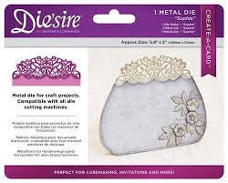 Create A Card Die'sire SOPHIA Metal Craft Die Scrapbooksrus