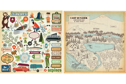 "Echo Park The Great Outdoors Carta Bella Collection Kit 12""X12"""