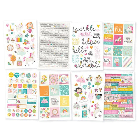 Simple Stories DREAM BIG Stickers 243pc Scrapbooksrus